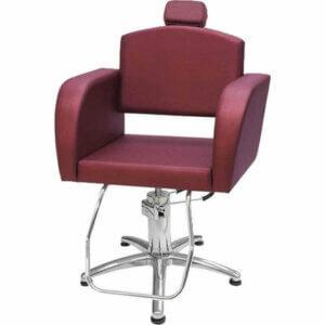Cadeira Hidráulica Sigma - Bordô-0