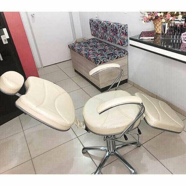 Cadeira Hidráulica Reclinável para Maquiagem Padrão II-4134