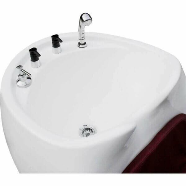 Lavatório para Barbearia Jumbo com Porta-Shampoo-3309