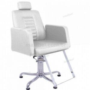Cadeira Hidráulica Reclinável Loren - Branco-0
