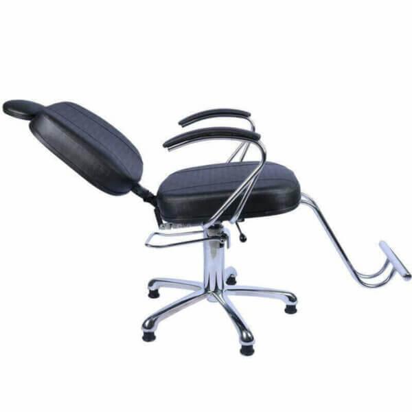 Kit Mercúrio Luxo - Cadeira Reclinável e Lavatório Cuba Móvel-6147