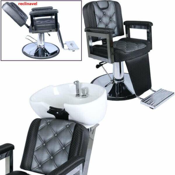 kit cadeira e lavatório