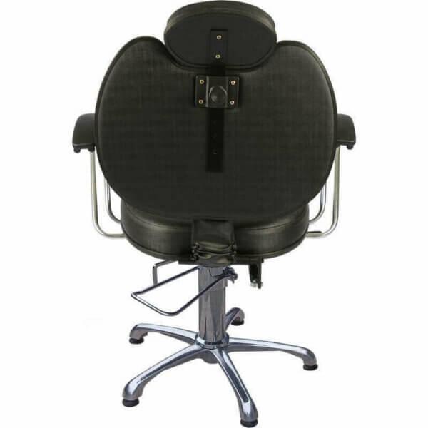 Kit com 1 Cadeira Padrão Relax, 1 Cadeira Padrão Reclinável, Lavatório e Mocho DZ-7743