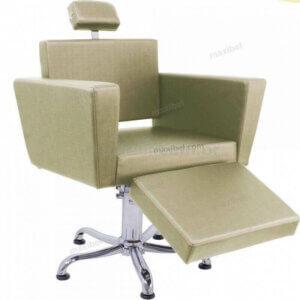 Cadeira para Maquiagem Ômega Top com Descanso de Pernas - Fendi-0