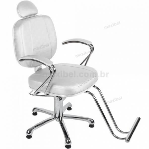 Cadeira de Cabeleireiro Mercúrio Luxo Sem Reclínio