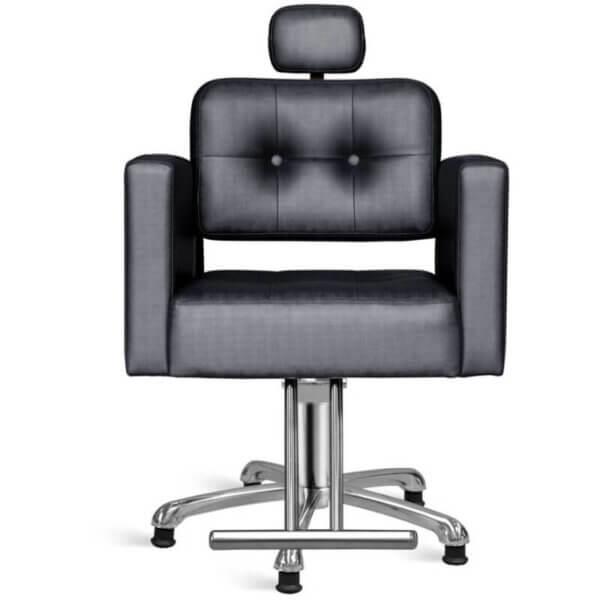 Cadeira para Salão Reclinável Milão - Base Estrela