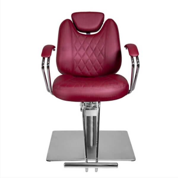 Cadeira de Cabeleireiro Reclinável Novara - Base Quadrada