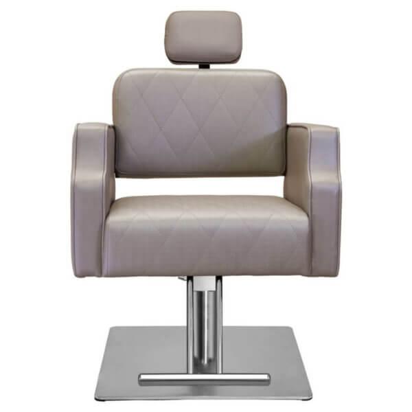 Cadeira para Salão Reclinável Ravenna - Base Quadrada